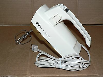 READ Not work correctly Used vintage hand mixer SUNBEAM MIXMASTER HM 1 beater