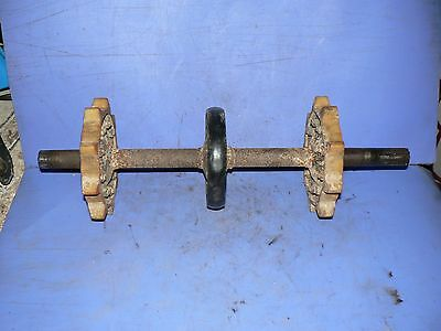 Used Read SKI DOO  FRONT SPROCKET WITH SHAFT TNT NORDIC fOR 18'' TRACK