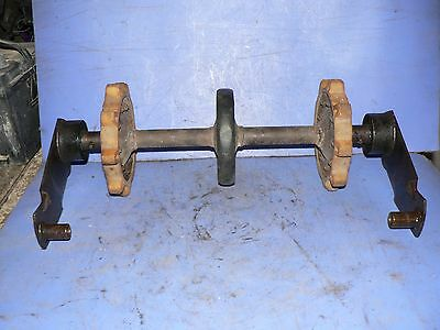 Used Read SKI DOO  REAR SPROCKET WITH SHAFT TNT NORDIC 72 AND OTHER 18'' TRACK