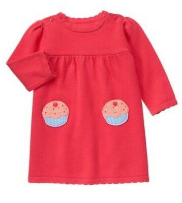 NWT Gymboree Treats /& Trucks Baby Girl Cupcake Layette 5pc Outfit