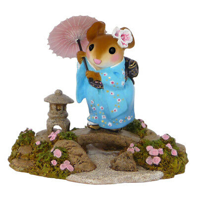 JAPANESE GARDEN by Wee Forest Folk, WFF# M-459,  Japanese Mouse