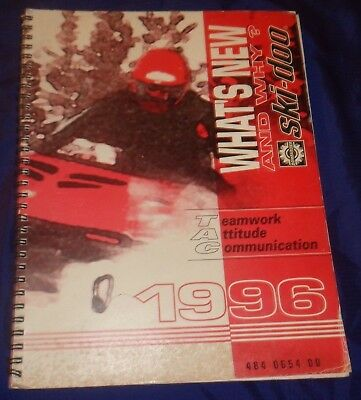 BS671 1996 Ski-Doo What's New and Why Parts Catalog 484 0654 00 Manual