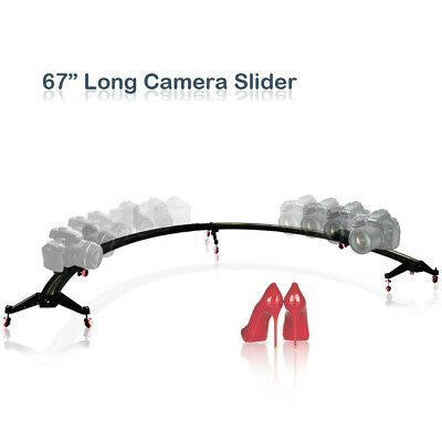 Photo Studio 1/2 Round Circle 67 in. Photography Camera & Camcorder Slider 180°