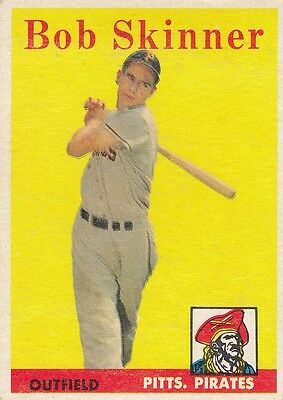Topps 1958 #94 Bob Skinner-Pittsburgh Pirates