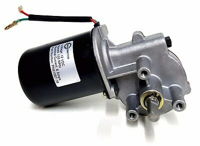 "Makermotor 3/8"" D Shaft 100 RPM Electric Gear Motor 12v Low Speed Gearmotor DC"