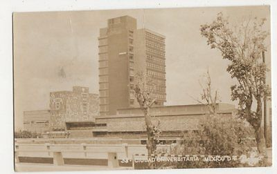 Mexico, Ciudad Universitaria RP Postcard, B212