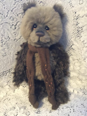 Charlie Bears STIRLING 2015 Isabelle Mohair Collection FREE US SHIP