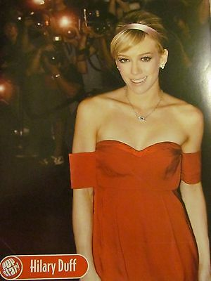 Hilary Duff, Full Page Pinup