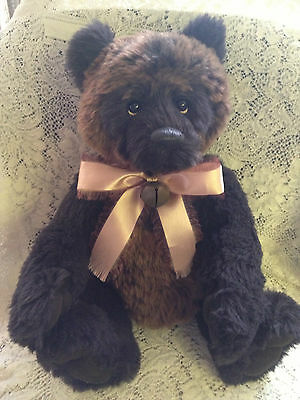 Charlie Bears CHAMBERLAIN 2013 Isabelle Mohair Collection FREE US SHIP