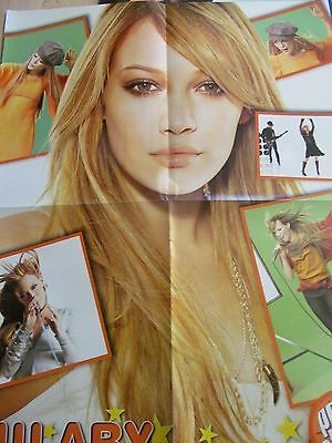 Hilary Duff, Harry Potter, Emma Watson, Double Four Page Foldout Poster