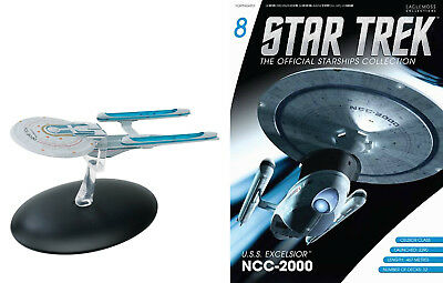 STAR TREK Official Starships Magazine #08 USS EXCELSIOR NCC-2000 Eaglemoss