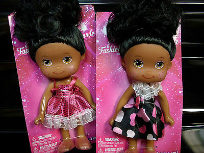 two lot AA african american new baby dolls black americana