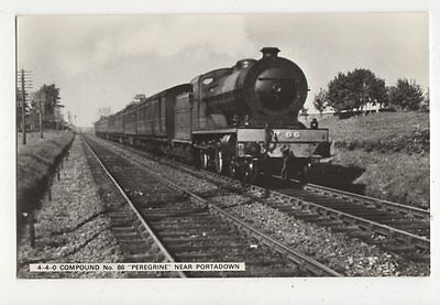 Locomotive No.86 Peregrine Near Portadown RP Postcard 308a