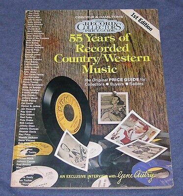 Vintage 1976 ~ Osborne Record Collector Price Guide ~Country Western 1St Edition