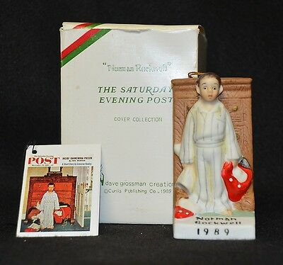 Norman Rockwell - Discovery - Ornament 1989 Mib