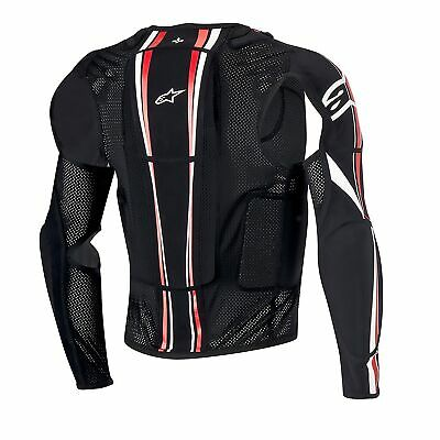 Alpinestars MX/Enduro/Bike Bionic Tech Plus CE Certiified Jacket Black/White/Red