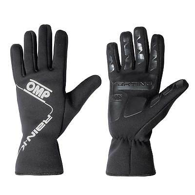 OMP Rain K Go/Kart/Kart/Karting/Racing/Track Day/Driving Wet Weather Gloves