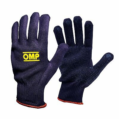 OMP Short Tech Car Mechanic / Garage / Workshop Work Gloves