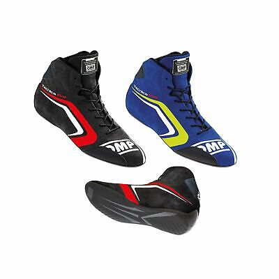 OMP Tecnica Evo FIA Approved Race / Rally / Racing Suede Boots / Shoes - IC803E