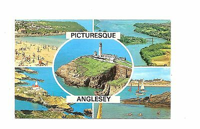 Postcard: Multiview - Picturesque Anglesey, Wales