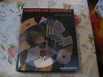 American Ceramics 1876 To The Present Clark Lge Format Hardback Book