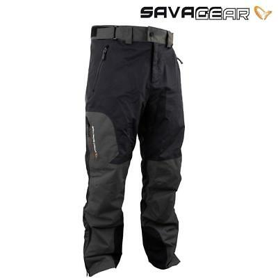 Savage Gear Black Savage Trousers Grey Coarse Carp Fishing