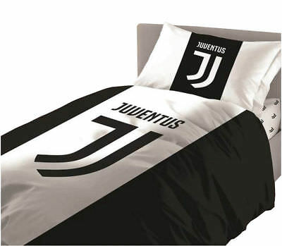 Juventus Completo Letto Singolo 1 Piazza Federa + Lenzuola Juve PS 08906