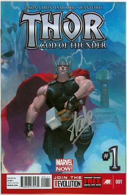 Thor God Of Thunder #1 First Print Signed Stan Lee Nm Marvel Comics Movie