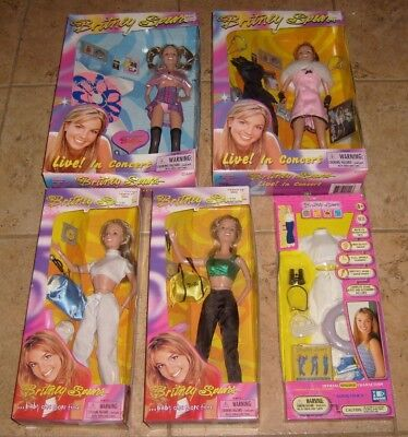 BRITNEY SPEARS Original POP Celebrity Fashion Doll Lot 1999 NEW Rare Outfit MOC