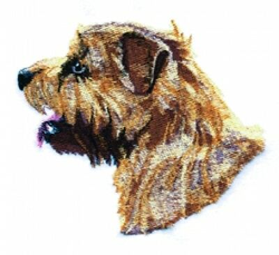 Large Embroidered Zippered Tote - Norfolk Terrier BT4531