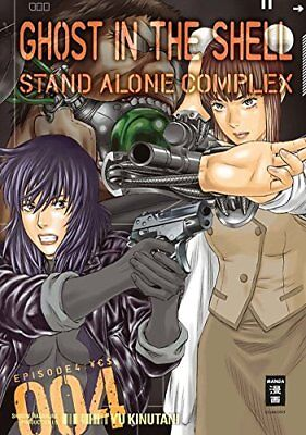 GHOST IN THE SHELL: Stand Alone Complex * Band 4 * Manga * NEU * portofrei