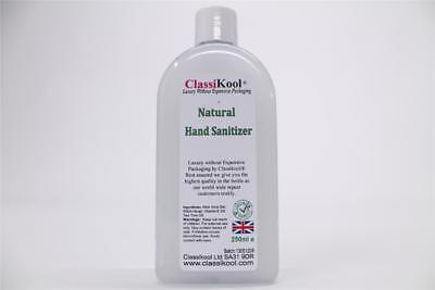 Classikool 250ml Natural Hydrate Travel Hand Sanitiser with Aloe Vera & VitaminE