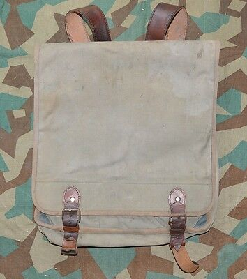 WW2 Bulgarian Army Officer Rucksack Military Backpack Canvas BAG