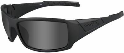 New Wiley X Twisted  Black Ops Sunglasses Grey Lens Matte Frame SSTWI01