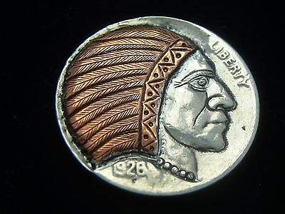 1926-P hobo nickel - INDIAN CHIEF #1115