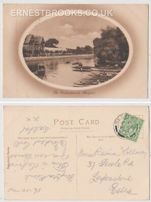 Early Postcard, Bedfordshire, Bedford, The Embankment, Nice View, 1914