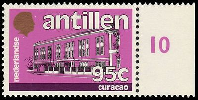 "NETHERLANDS ANTILLES 520 (Mi535) - Architecture ""Curacao"" (pa84888)"