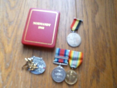Normandy Medal Group