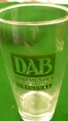 Dab Dortmunder export original draft beer glass 1 pint