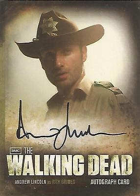 "Walking Dead Season 2 - A1 Andrew Lincoln ""Rick Grimes"" Autograph Card"