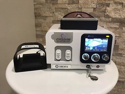 2016 Iridex CYCLO G6 Glaucoma Laser System Ophthalmic Red Diode w Micropulse P3