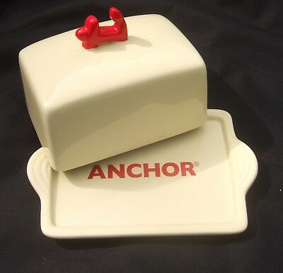 Retro Anchor Butter Dish : Promotional Advertising : Collectable & Functional