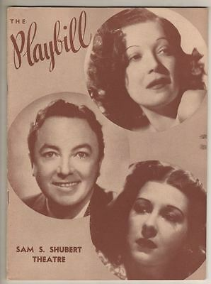 """Rodgers & Hart  """"Higher and Higher""""  Playbill  1940  Jack Haley, June Allyson"""
