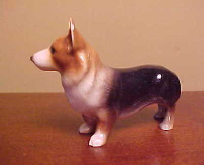 Hagen-Renaker Mini #3305 CORGI - Miniature Ceramic Dog Figurine (PRICE REDUCED)