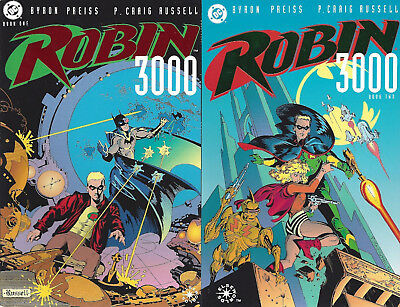ROBIN 3000  #1-2  1992    2 Issues