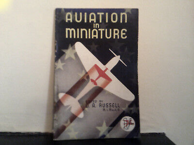 Aviation In Miniature - D.A. Russell 1940's