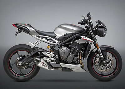 Yoshimura TRIUMPH STREET TRIPLE 2018 Street ALPHA T SO SS-SS-CF Works Finish