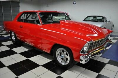 1967 Chevrolet Nova OUTSTANDING - AIR CONDITION - 355 OVERBORED PRO TOURING - RESTOMOD - SHOW - NOT CHEVELLE SS OR 69 CAMARO