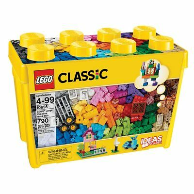 LEGO Classic Large Creative Bricks Building Play Set 10698 NEW NIB Sealed