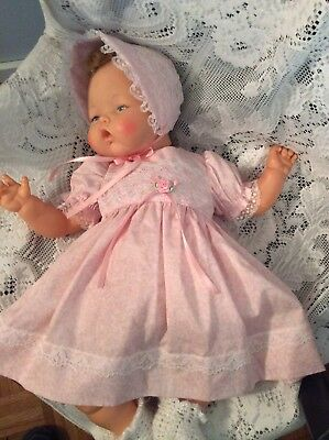"Doll Clothes for 19""/20"" Large Thumbelina ""Pretty Pink Dress Set"" by Maureen"